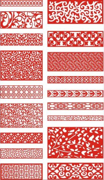 Laser Cut Pattern Screen 115 Free CDR Vectors Art