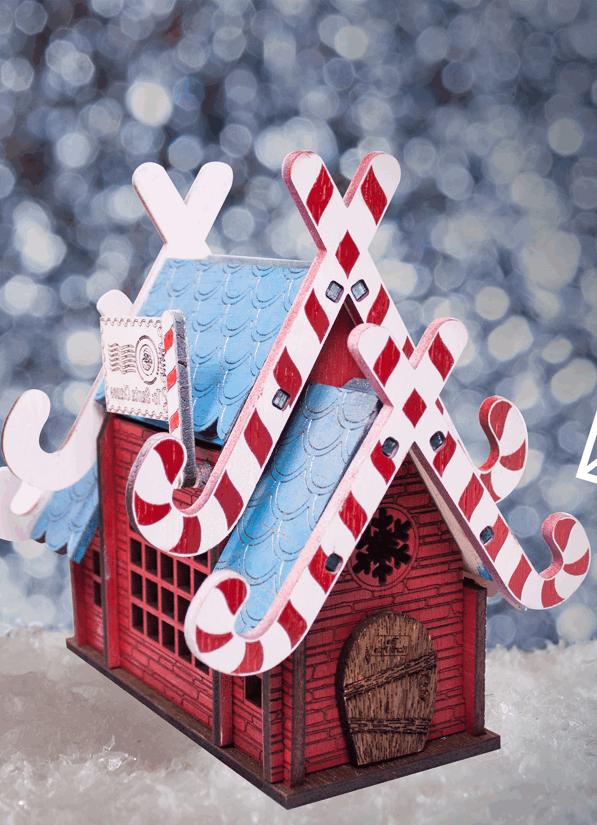 Laser Cut Santas Mailbox Free CDR Vectors Art