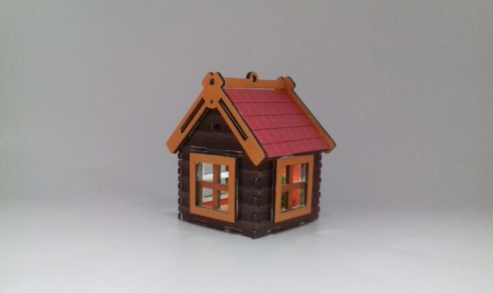Laser Cutter Small House Projects Free CDR Vectors Art
