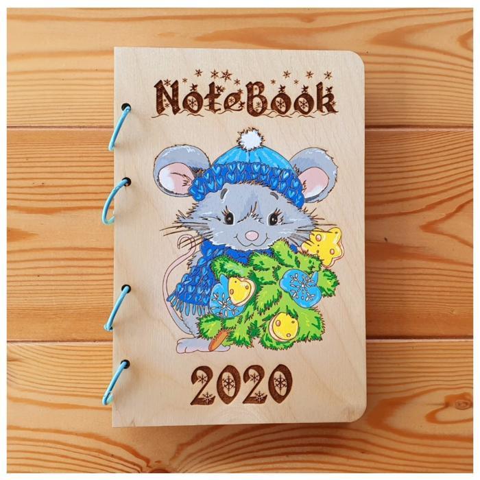 Notebook 2020 Laser Cut Wood Designs Free CDR Vectors Art