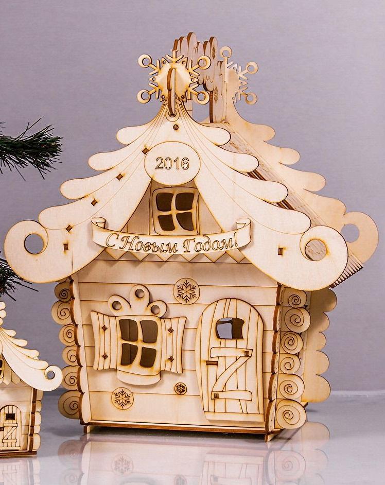 Santa Tea House Free CDR Vectors Art