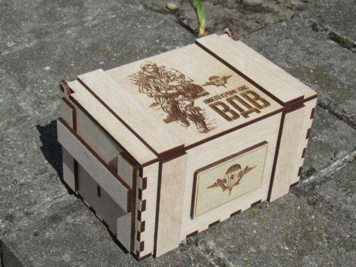Lasercut Box In The Military Free CDR Vectors Art
