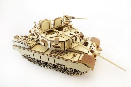 Laser Cut Wooden Toys Tank Free CDR Vectors Art