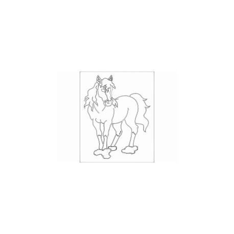 Pferd Horse Free DXF File