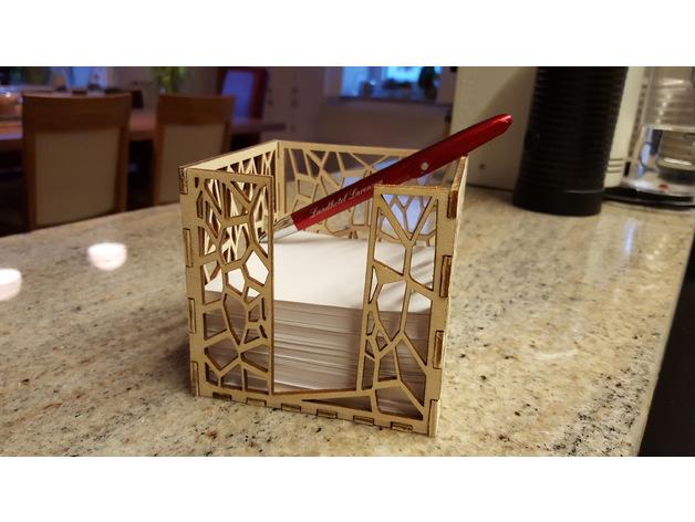 Laser Cut Paper Holder 95mm 20×30 Free CDR Vectors Art