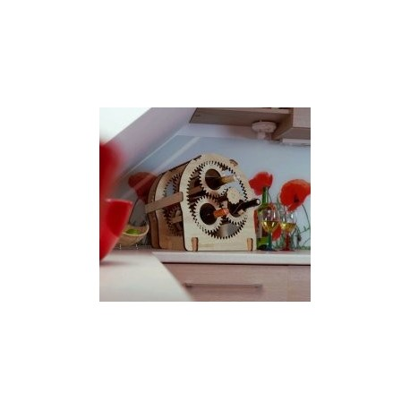 Planetary Gear Wine Stand 10mm Free DXF File