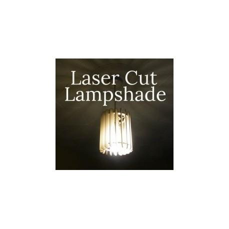 Slatted Lamp Free DXF File