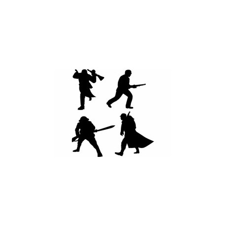 Soldier Silhouette Free DXF File