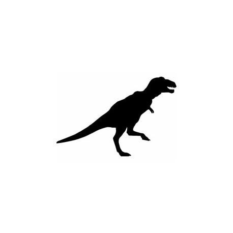 Trex Dinosaur Silhouette Free DXF File