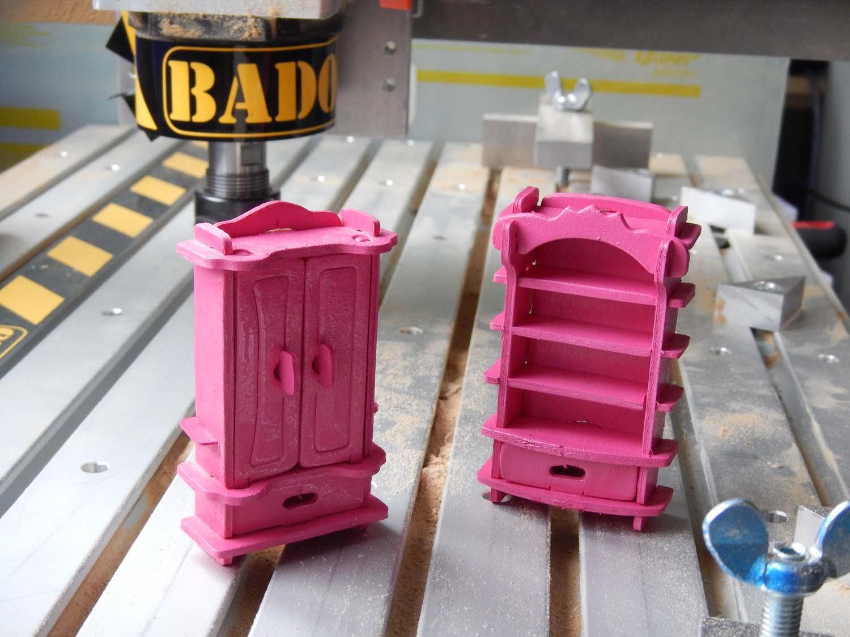 Laser cut Barbie Shelfs Free DXF File