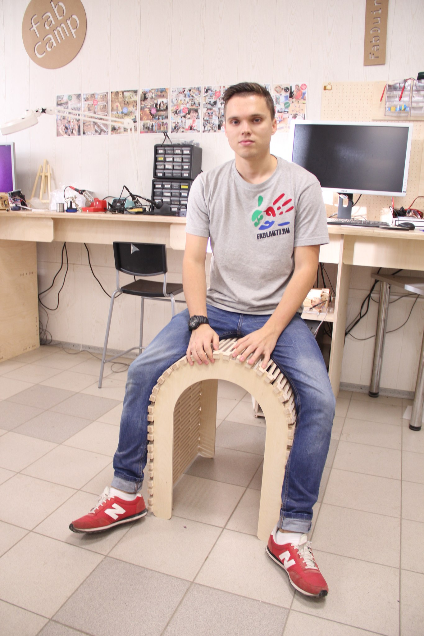 Laser cut Chair Furniture Plans Free DXF File