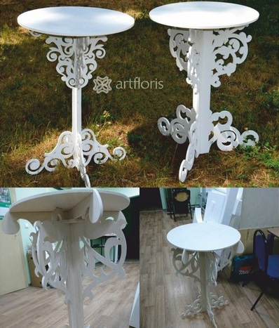 Decor Table Free DXF File