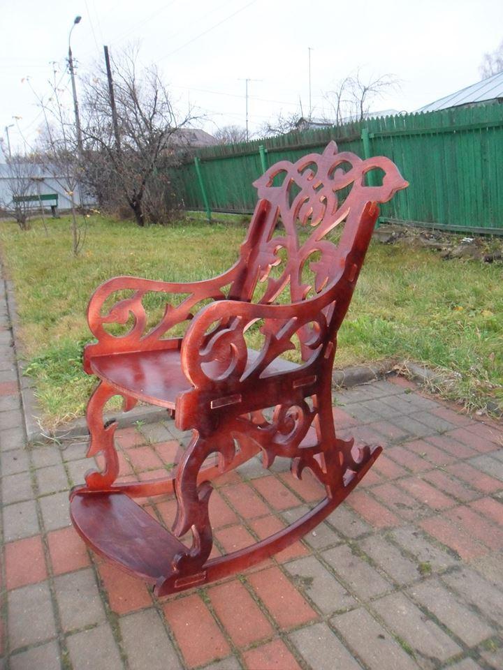 Sandalye (rocking Chair) Free DXF File