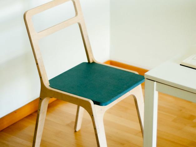 Slim Chair Nesting Free DXF File