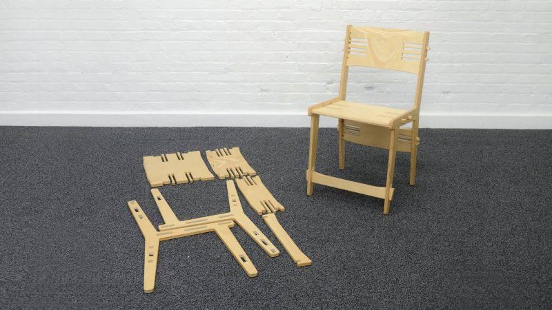 Snapset chair.cad.140512 Free DXF File