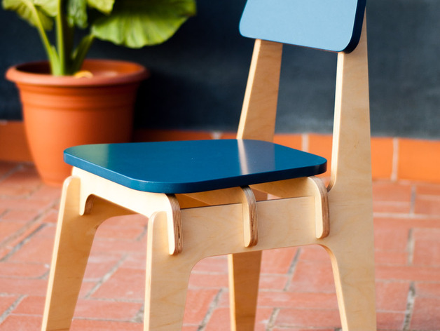 Wooden Spider Chair Free DXF File