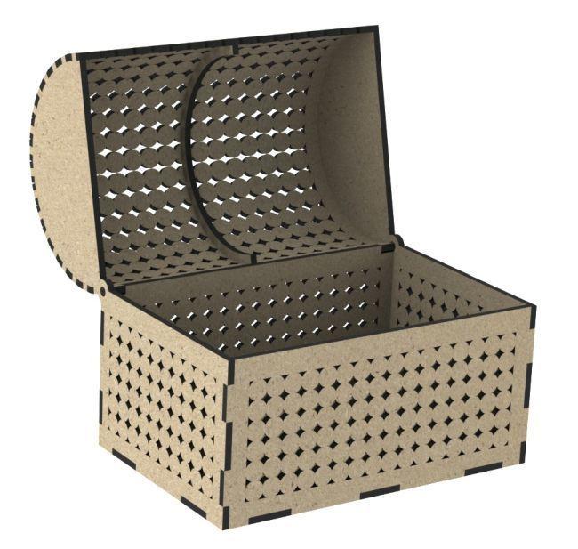 Laser Cut Designer Box Free CDR Vectors Art