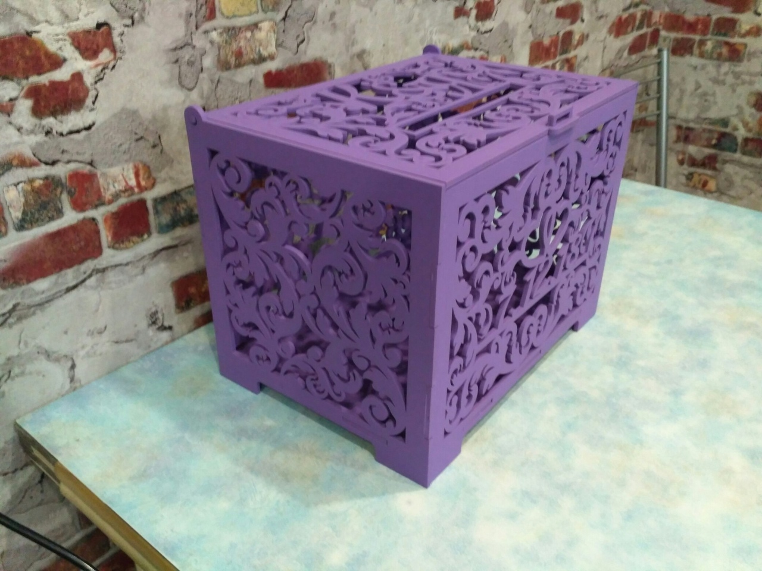 Svadebnaya Kazna Box Free CDR Vectors Art