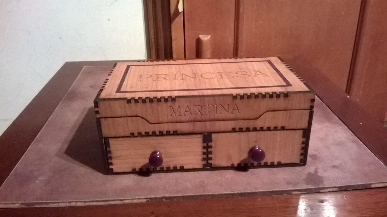 Wooden Decorative Box Free DXF File