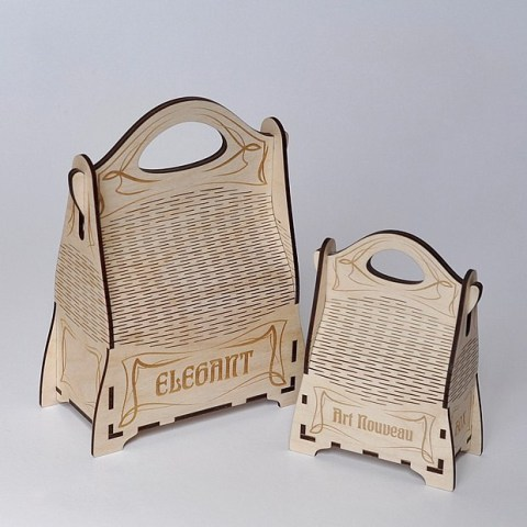 Elegant Box Cnc Free CDR Vectors Art