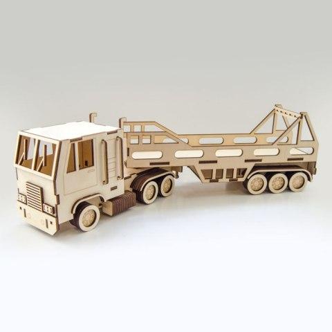 Laser Cutting Wooden Truck Cnc Free CDR Vectors Art