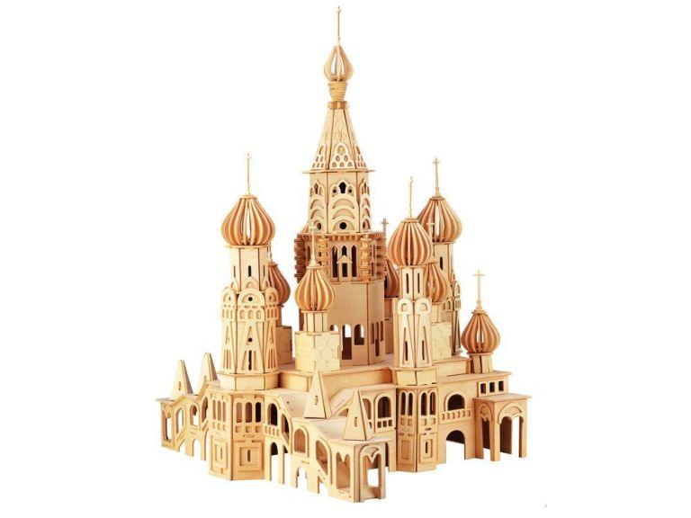 Wooden Church Puzzle Cnc Cutting Free CDR Vectors Art