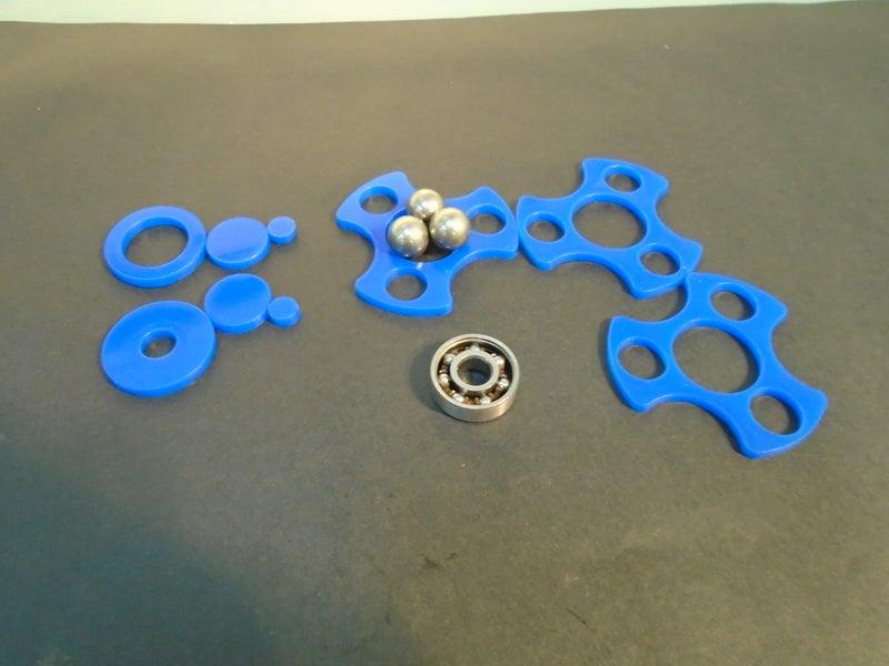 Cnc Laser Cut Fidget Spinner Free DXF File