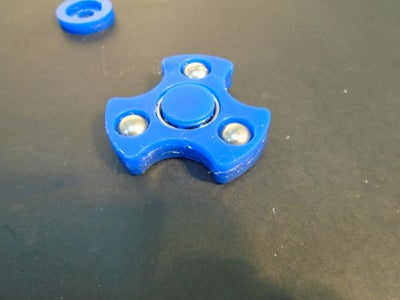 Fidget Spinner Free DXF File
