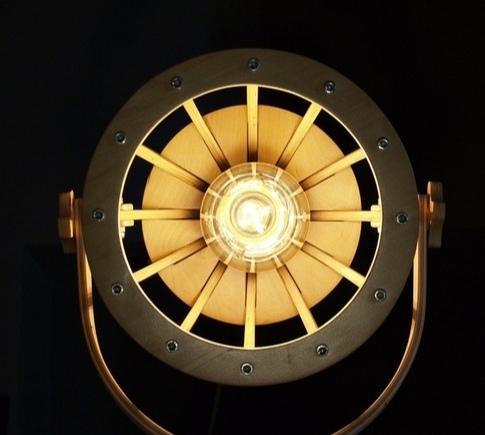 Laser Cut Wooden Cnc Cutting Lamp Free CDR Vectors Art