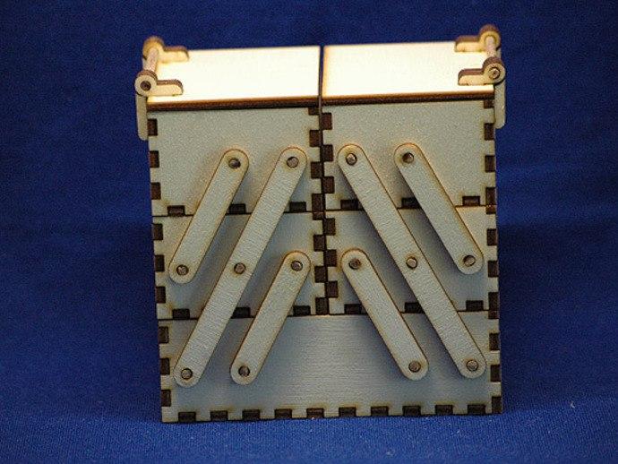 Laser Cut Wooden Toolbox Cnc Cutting Free CDR Vectors Art
