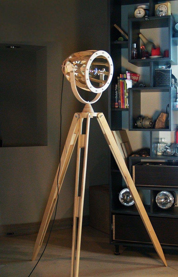 Wooden Cnc Cutting Lamp Free CDR Vectors Art