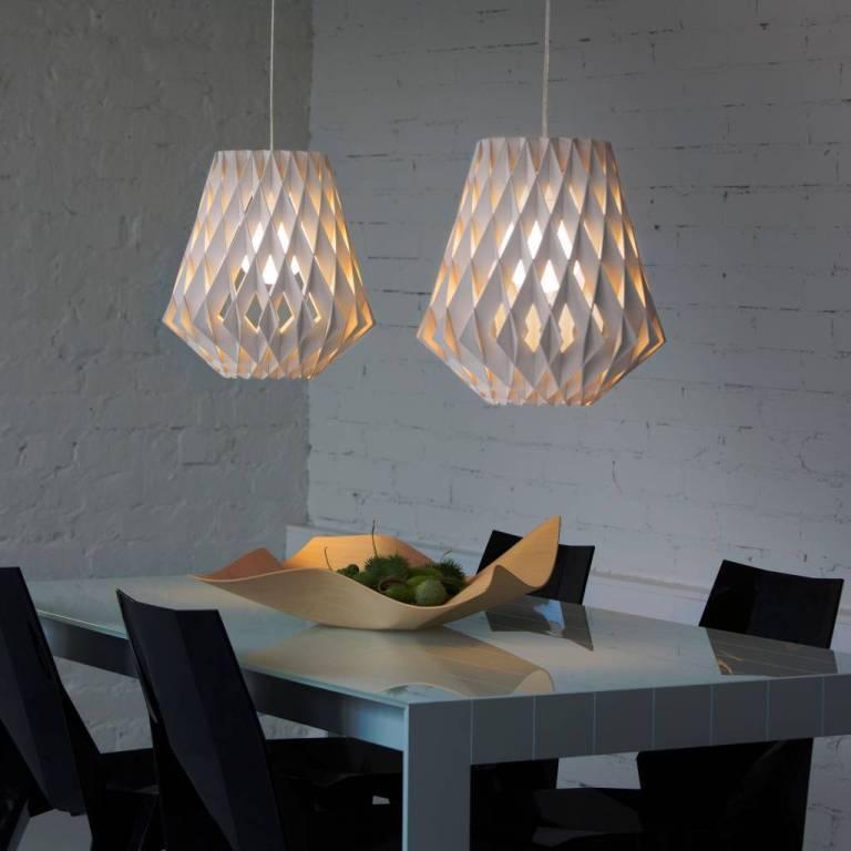 Wooden Hanging Lamp Cnc Free CDR Vectors Art