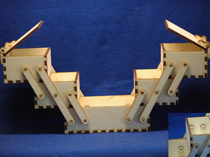 Wooden Toolbox Cnc Cutting Free CDR Vectors Art