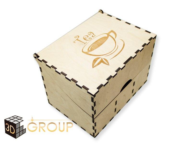 Mdf Sweet Box Free DXF File