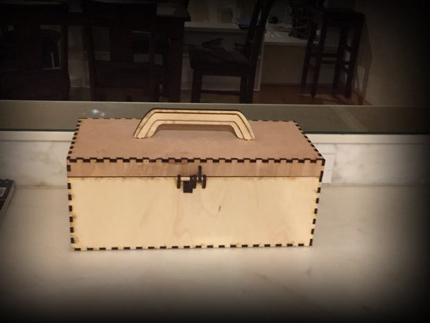 Tool Box For Cnc Laser Cut Free CDR Vectors Art
