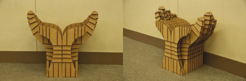 Chair Flower From Hands Free CDR Vectors Art