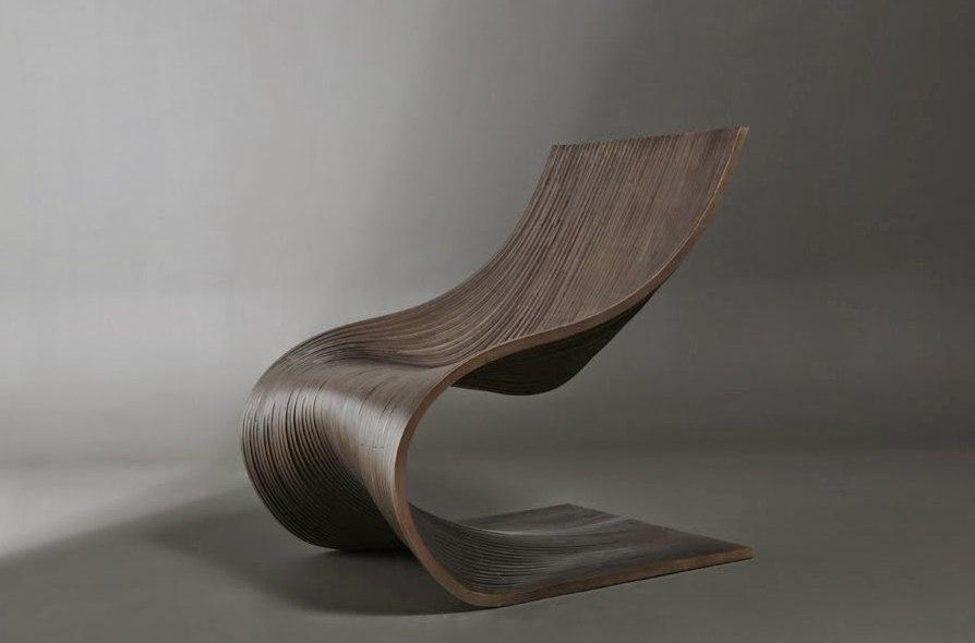 Chair Wave Design Free CDR Vectors Art