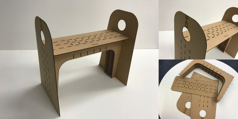 Blanco Chair Free DXF File