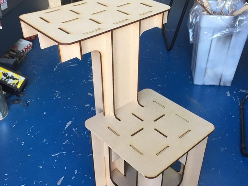 Parametric Table Chair Free CDR Vectors Art