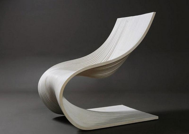 Wave Chair Free CDR Vectors Art