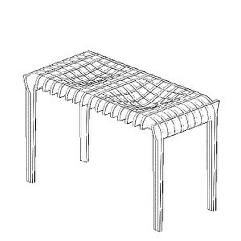 Столик с чашами под фрукты Free CDR Vectors Art