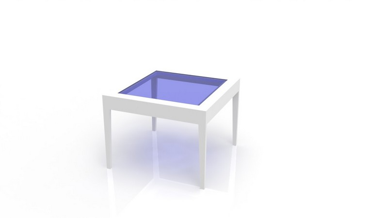 Coffee Table With Glass Free DXF File