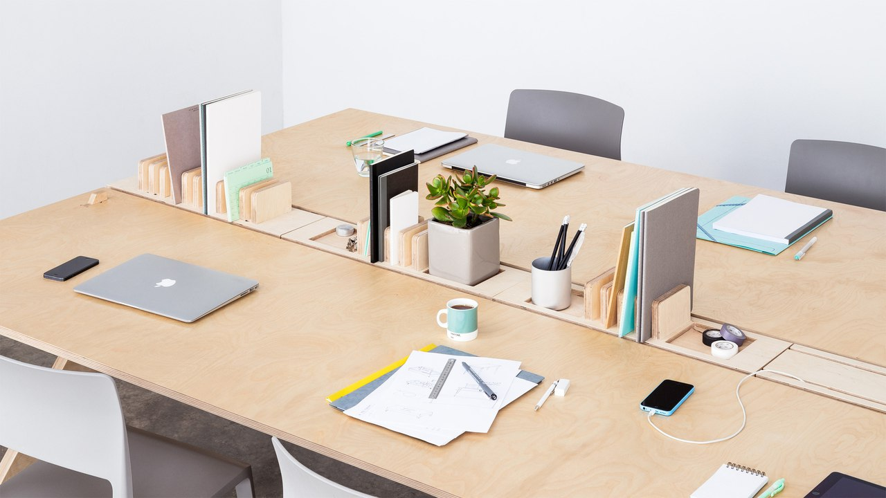 Office Meeting Table Wooden Free DXF File