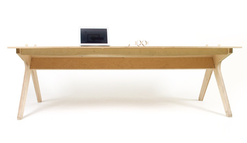 Office Table Free DXF File