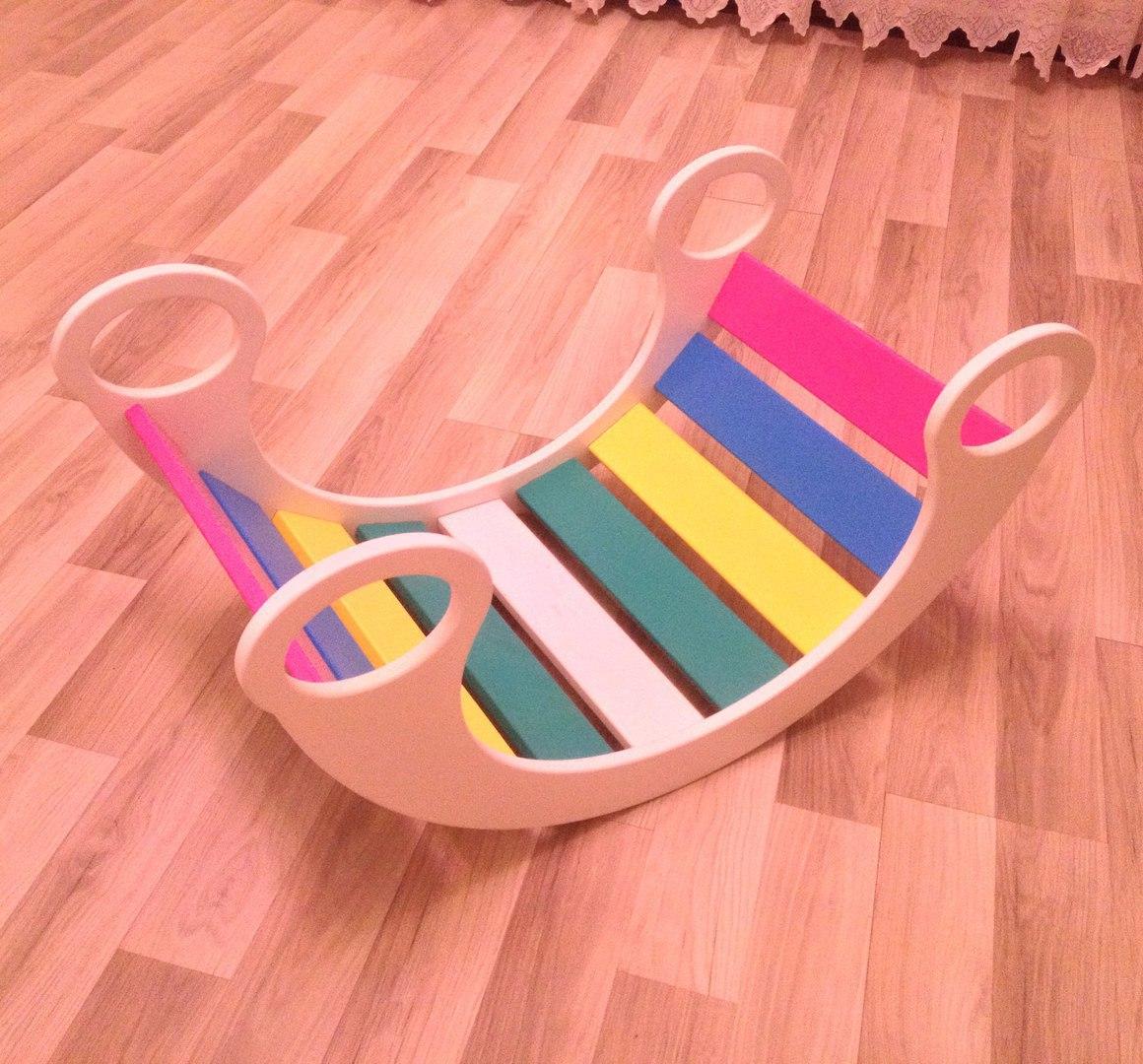 Children Rocking Chair Free CDR Vectors Art