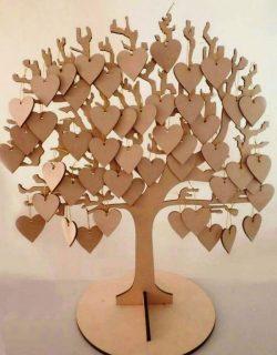 Cnc Laser Cut Wish Tree Free CDR Vectors Art