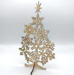 Cnc Laser Cut Wonderful Tree Free CDR Vectors Art