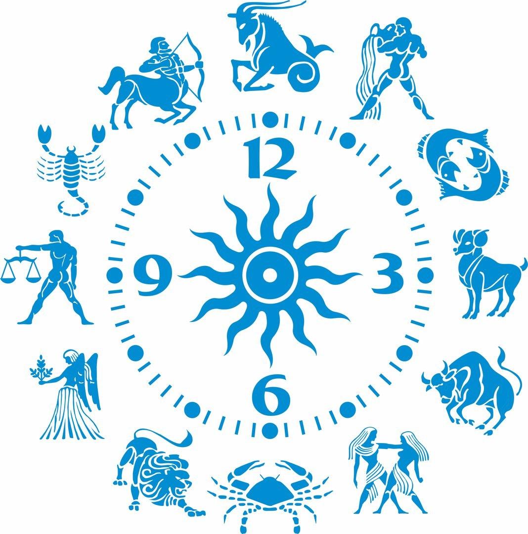 Zodiac Astrological Sign Tattoo Astrology Sagittarius Clock Free CDR Vectors Art