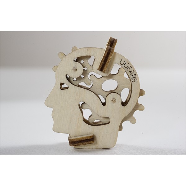 Tribka Trinkets Head Mechanical 3d Puzzle Brainteaser Free CDR Vectors Art