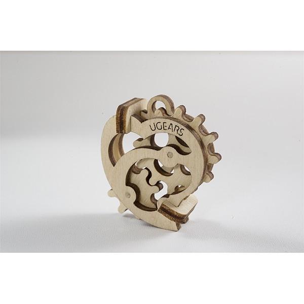 Tribka Trinkets Heart Mechanical 3d Puzzle Brainteaser Free CDR Vectors Art